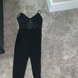 Jumpsuit (see through stomach area)